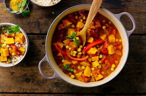 Knorr - Curry mit Kichererbsen