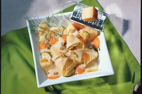 Knorr - Pasta mit cremiger Gemüsesauce