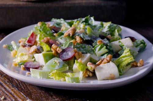 Unwind Waldorf salad