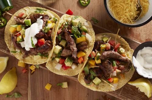 Knorr - Mexikanische Rindfleisch-Tacos mit Avocado