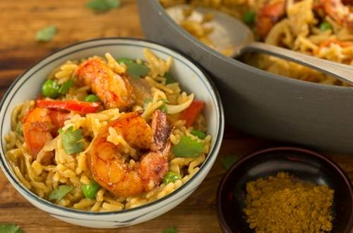 Coconut-Curry Shrimp