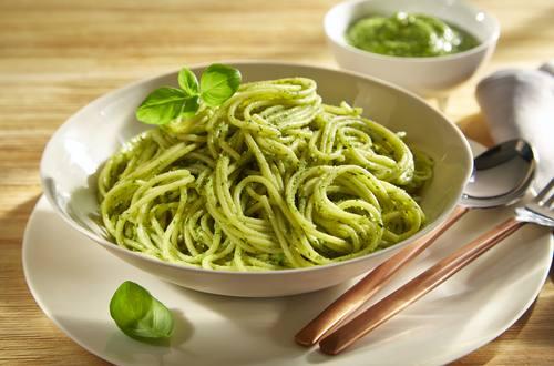 Knorr - Schnelles Pesto mit Spaghetti