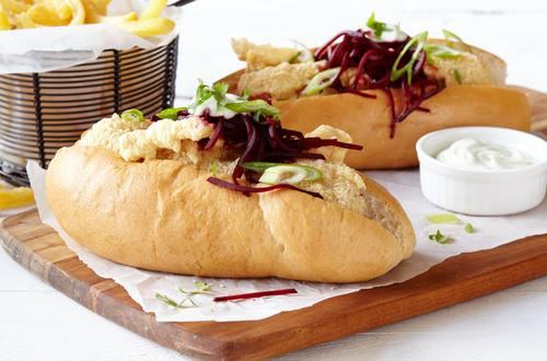 Tempura Hot Dogs
