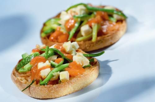 Knorr - Zucchini-Toasties