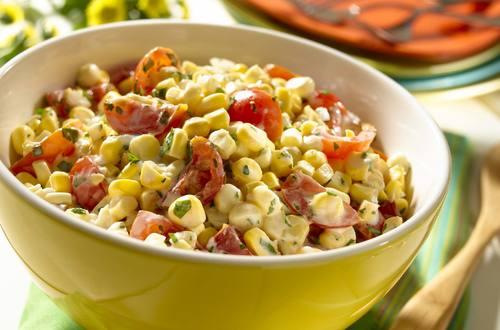 Salade fiesta de maïs frais