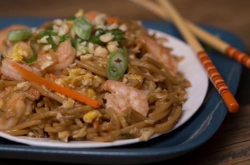Asian Shrimp & Peanut Stir-Fry