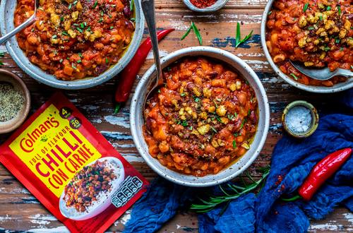 THREE BEAN CHILLI - VEGAN