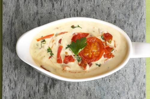 Knorr - Karamellisierte Kirschtomaten-Hollandaise
