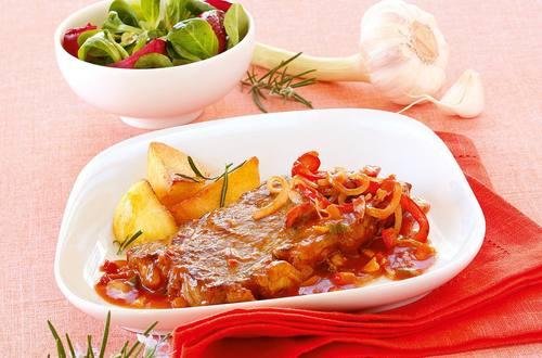 Knorr - Rostbraten mit Paprika