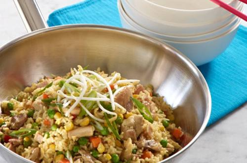 Oriental Chicken Fried Rice