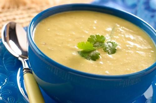 Cilantro Corn Soup