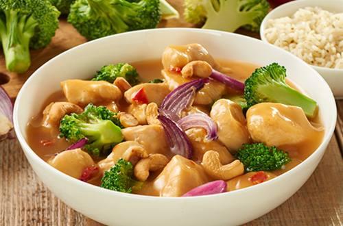 Thaise kip siam met broccoli