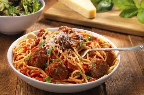 Spaghetti kødboller