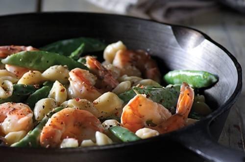 Poêlée de Raffaello aux Crevettes