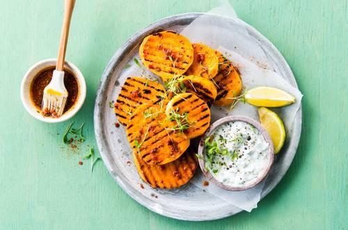 Knorr - Gegrillte Süßkartoffeln