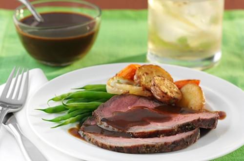 Herbed Sirloin Roast & Vegetables
