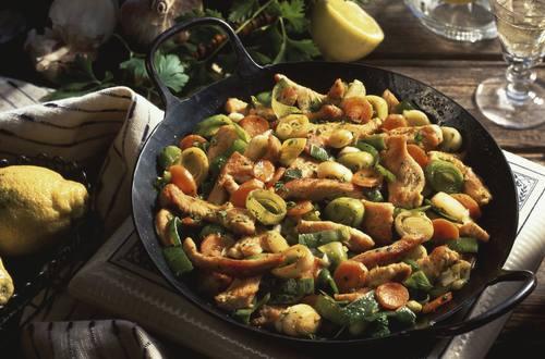 Knorr - Puten-Gemüse-Pfanne