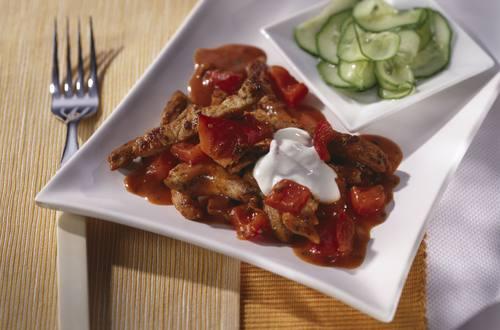 Knorr - Schnitzel Pfanne mit Paprika