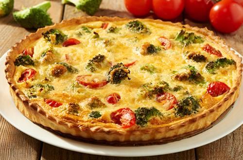 Broccoli quiche met kaas