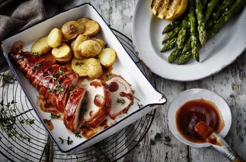 Knorr - Schweinefilet mit Chili Bacon