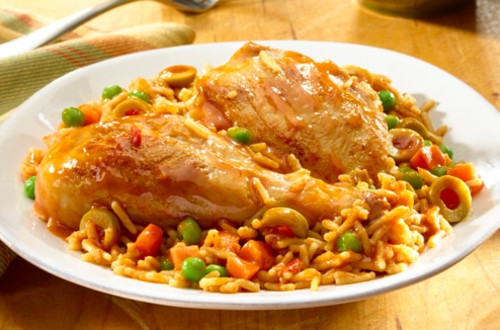 Savory Chicken & Rice