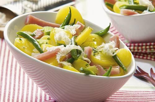Knorr - Kartoffel-Fisolen-Salat mit frischem Kren