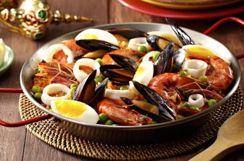 Paella Marinara Recipe