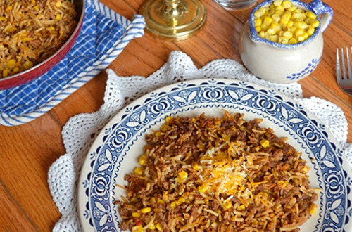 Spanish Skillet Supper