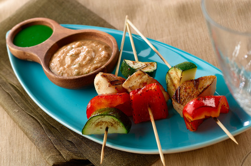 Grilled Mexican Chicken Satay