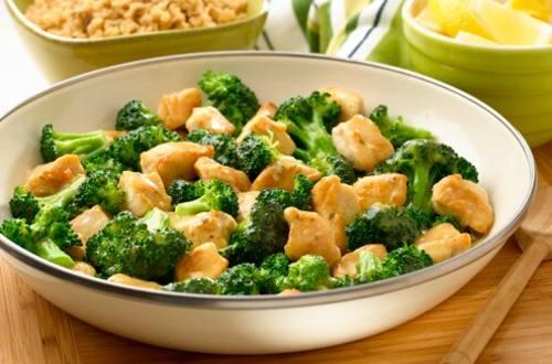 Lemon Chicken & Broccoli Saute