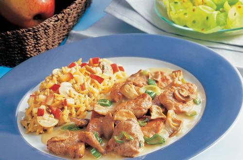 Knorr - Kalbsgeschnetzeltes mit Austernpilzen