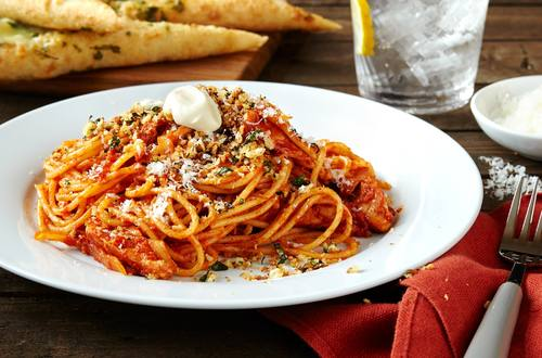 Spaghetti au poulet