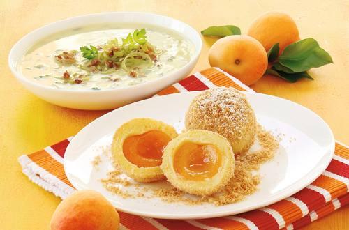Topfen-Kartoffelteig für Obstknödel