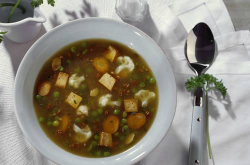 Knorr - Exotischer Weizeneintopf mit Tofu