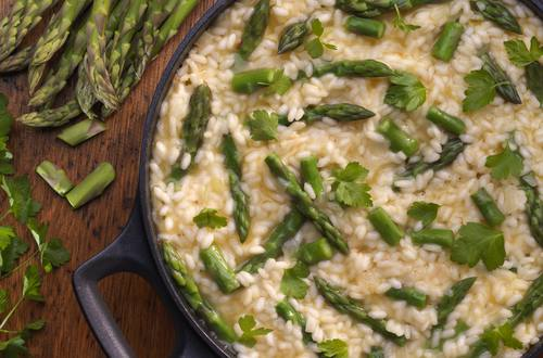 Knorr - Spargel Risotto