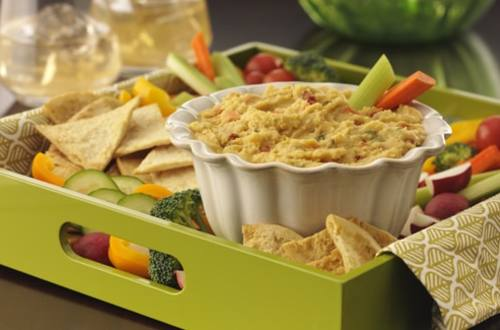 Vegetable Hummus