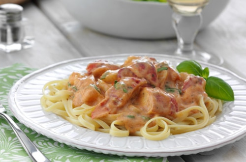 Linguine Parma-Rosa au Homard