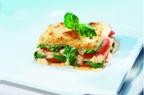 Knorr - Tomaten-Spinat-Lasagne