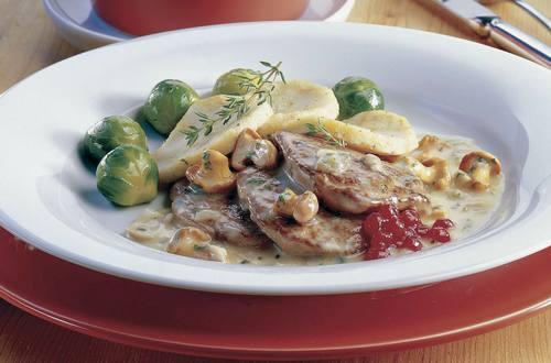 Knorr - Rehschnitzel auf Försterinnen Art