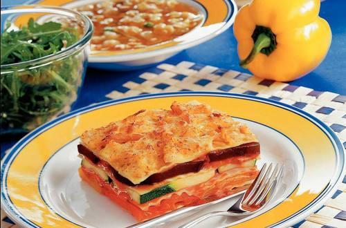Knorr - Gemüselasagne mit Putenschinken