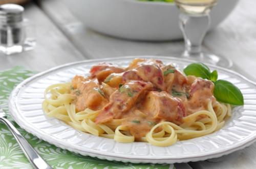 Lobster Parma-Rosa Linguine