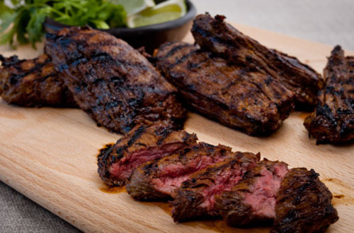 Grilled Asian Skirt Steak