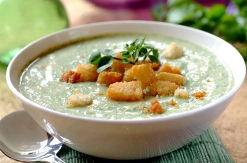 Густой йогуртовый суп по-гречески