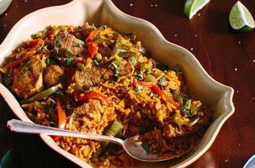 Spanish Pork & Rice