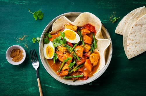 Knorr - Würziges Hähnchen-Curry mit Süßkartoffel