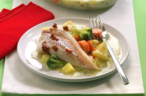 Fisch-Kartoffel-Gratin Ausschnitt