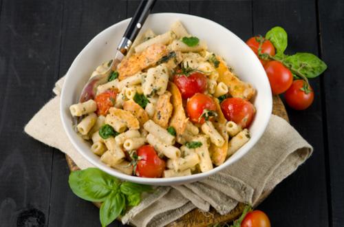 Paprika Chicken & Tomato Pasta