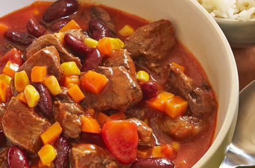 Chili mit Rindfleisch Silvester