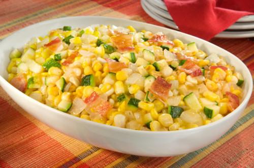 Savoury Corn & Onion Saute