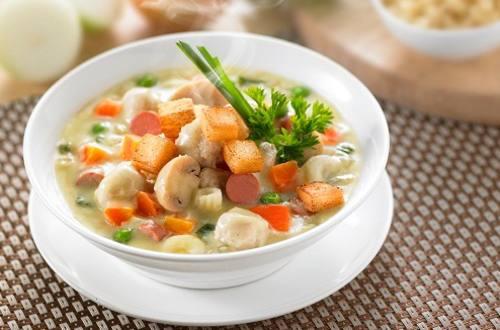 Sup Krim Ayam Istimewa